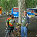 Covering 2004 Tour de France, with Rick Reilly of Sports Illustrated